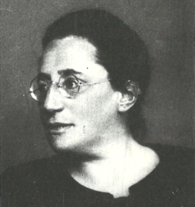 Emmy Noether in Göttingen in den Zwanziger Jahren